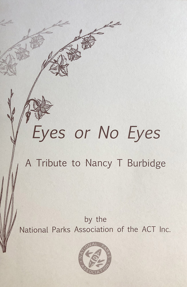 Eyes or No Eyes - by Nancy Burbidge
