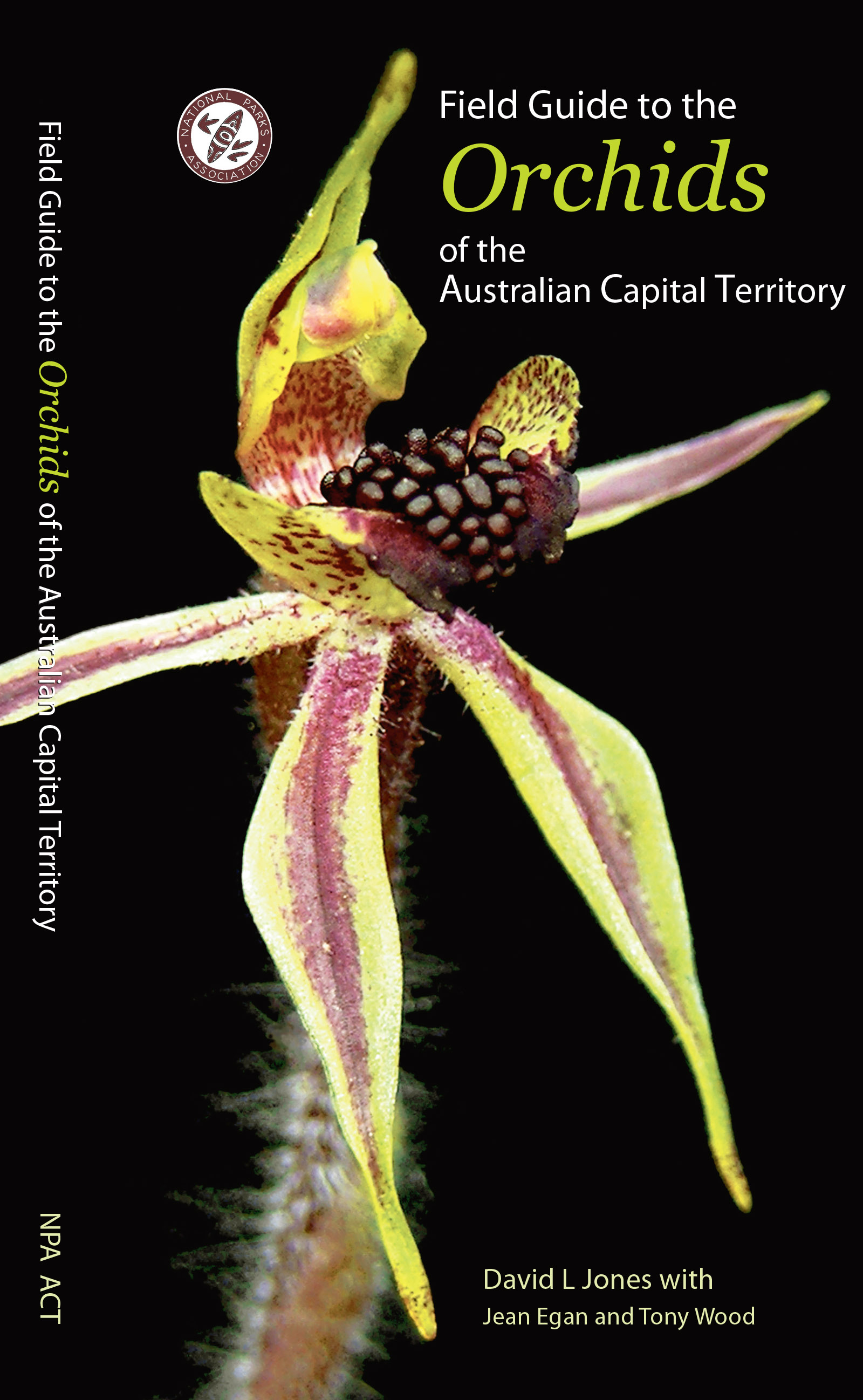 Field guide to the Orchids of the ACT
