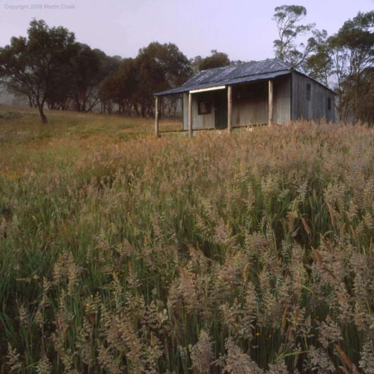 Dawn at Townsend's Hut