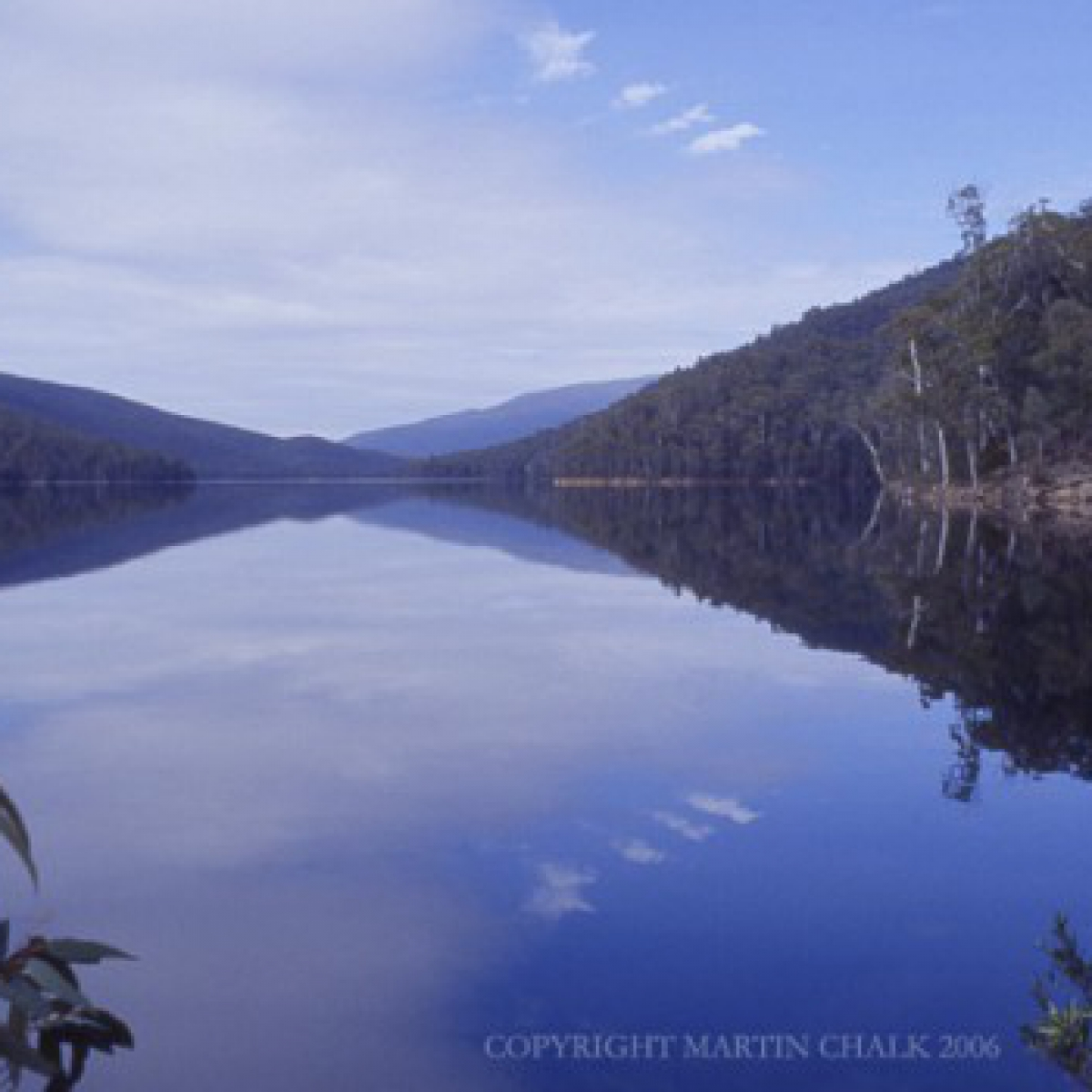 Bimberi Peak from Corin Dam - Namadgi National Park