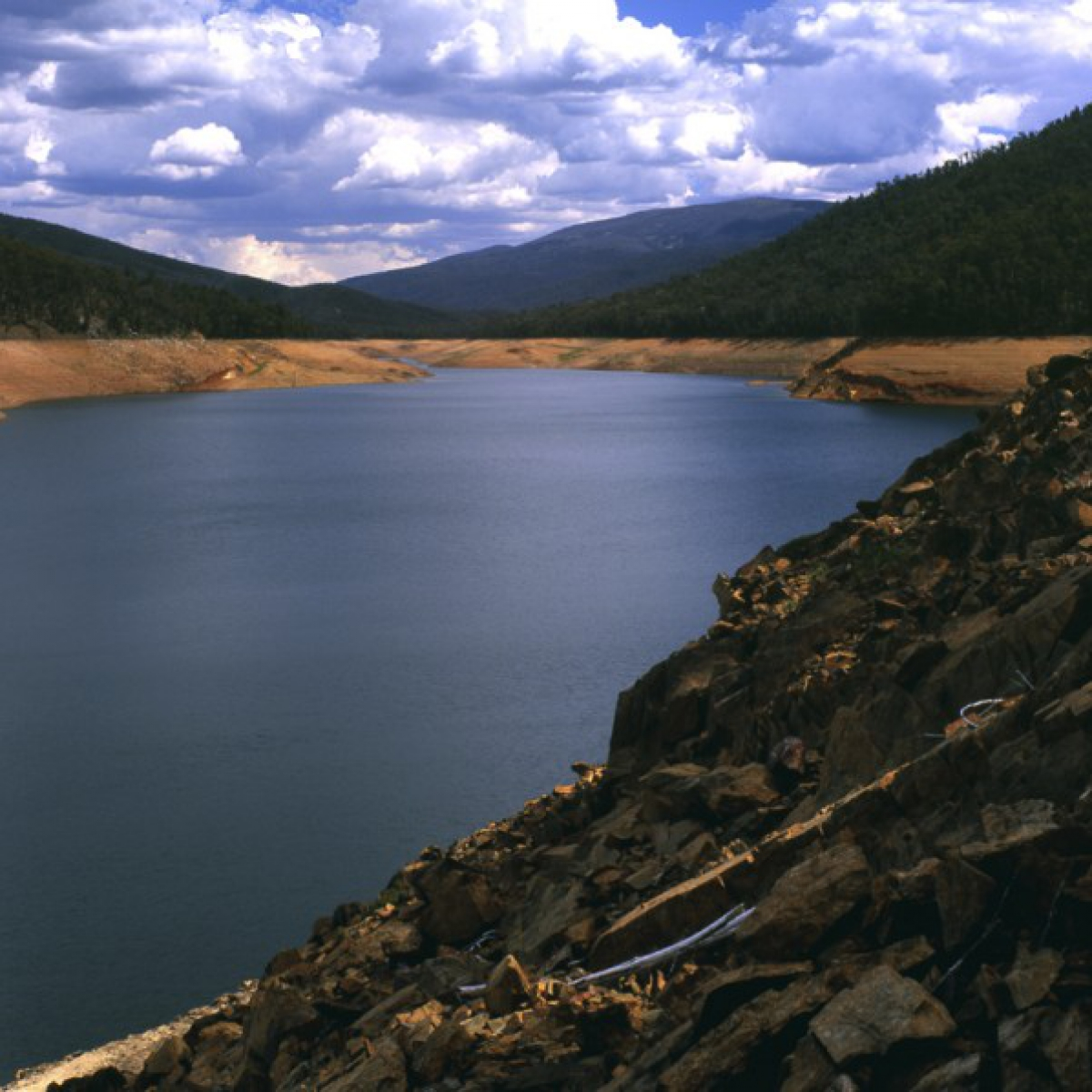 Corin Reservoir under stress