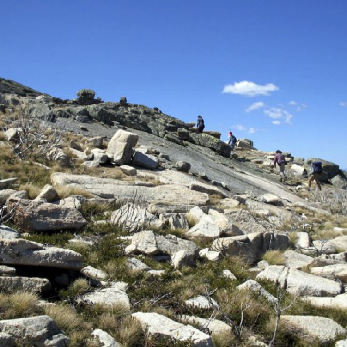 Ascending Mt Kelly - October 2005 - Namadgi National Park
