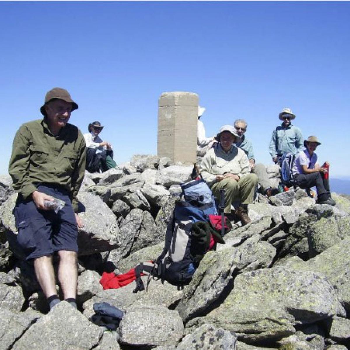 NPA group atop Mount Townsend
