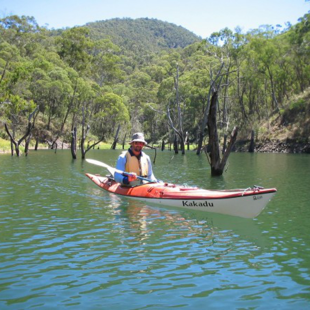 On Talbingo Reservoir