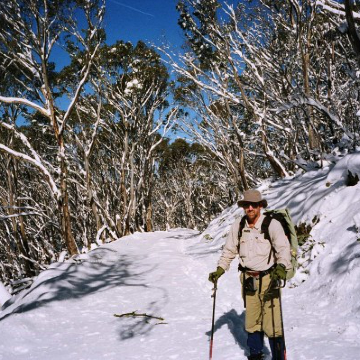 Mike Bremers, Mt Franklin Rd, Namadgi NP