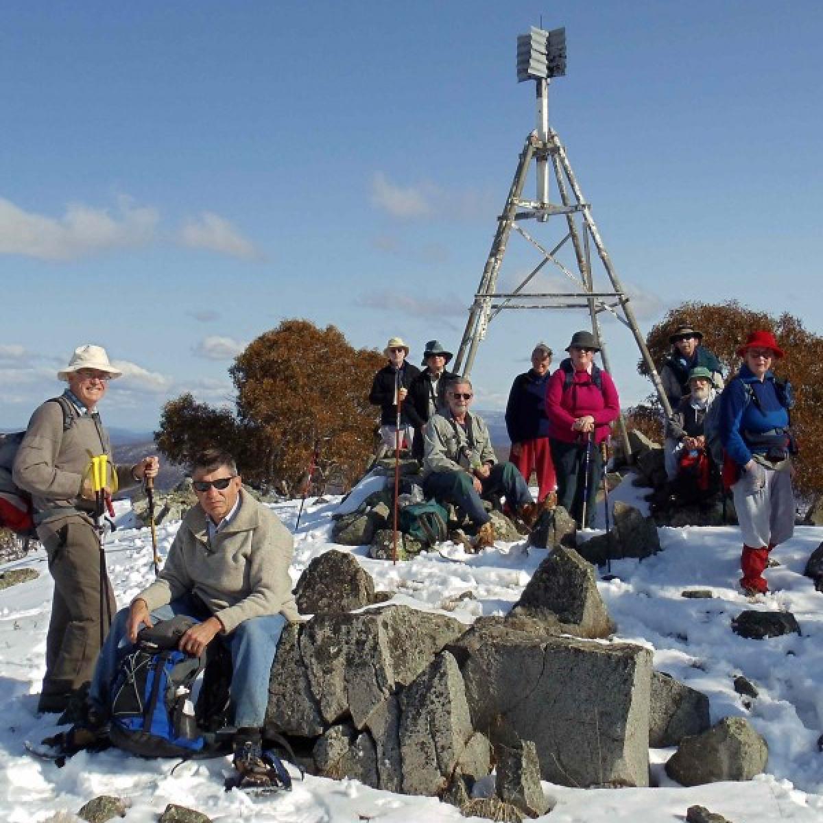 Mt Nungar summit