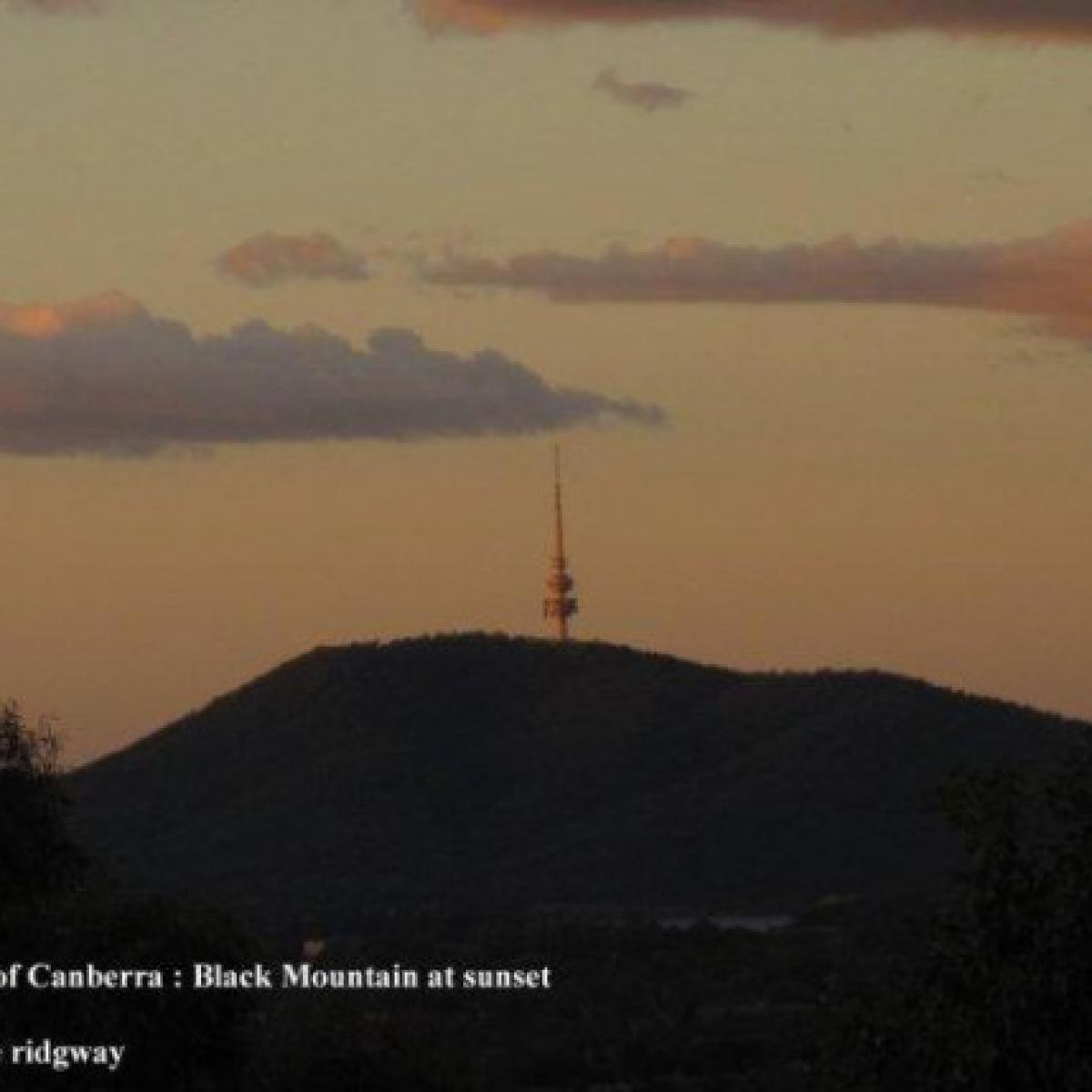 Black Mountain at Sunset